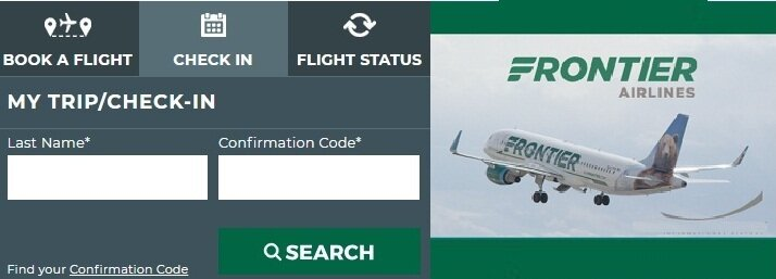 Frontier Airlines Check in