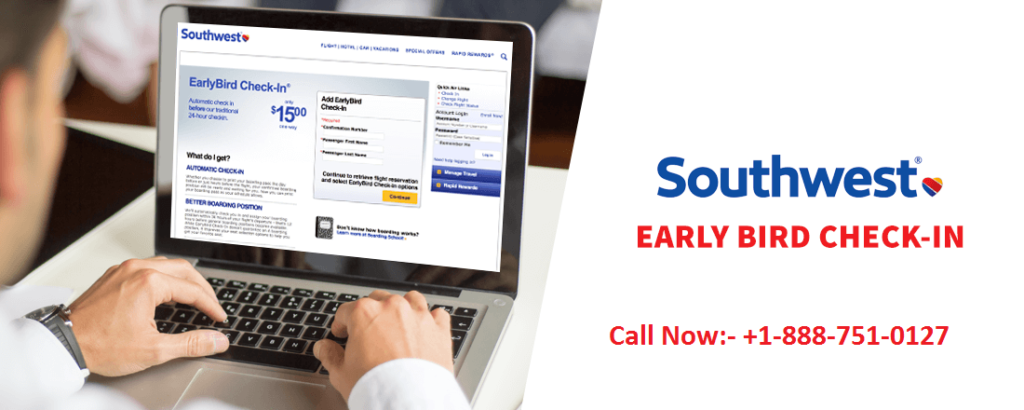southwest airlines early bird check in