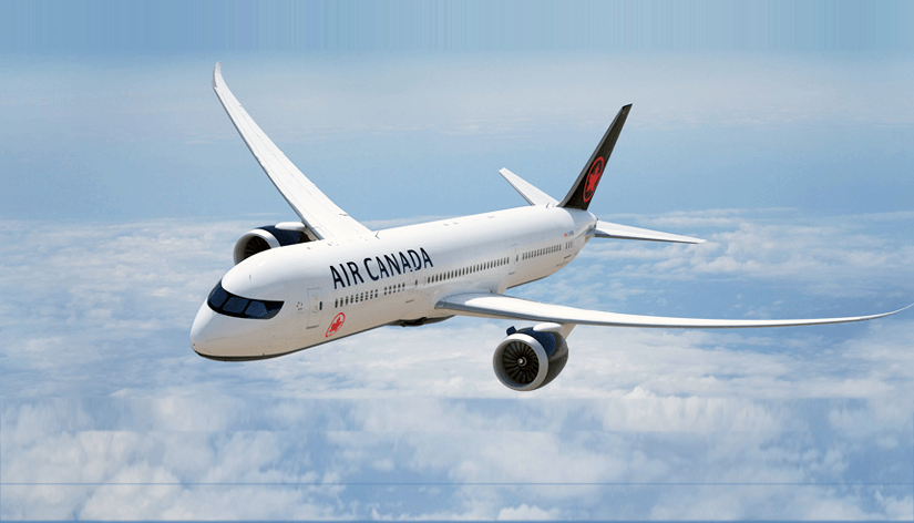 Air Canada online reservations