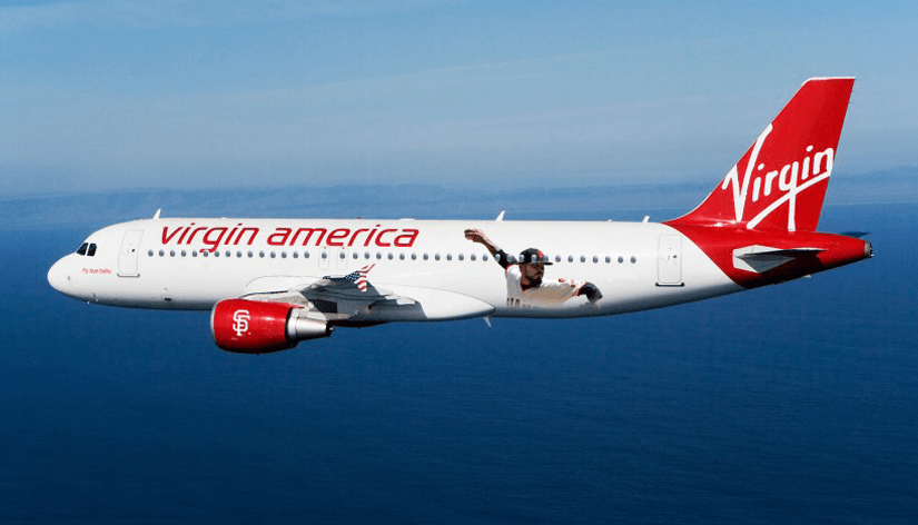 Virgin America Airlines Booking