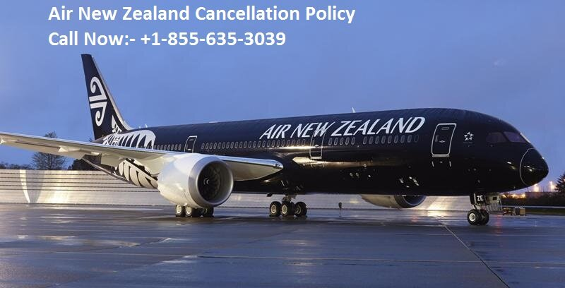 Air New Zealand Cancellation Policy