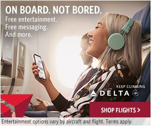 Delta Airlines Entertainment options