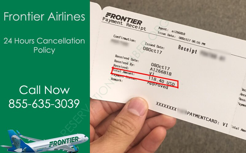 Frontier Airlines Cancellation Policy