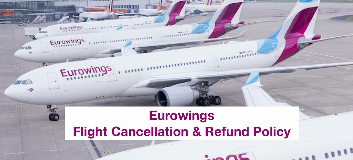 Eurowings Flight Cancellation Refund Policy