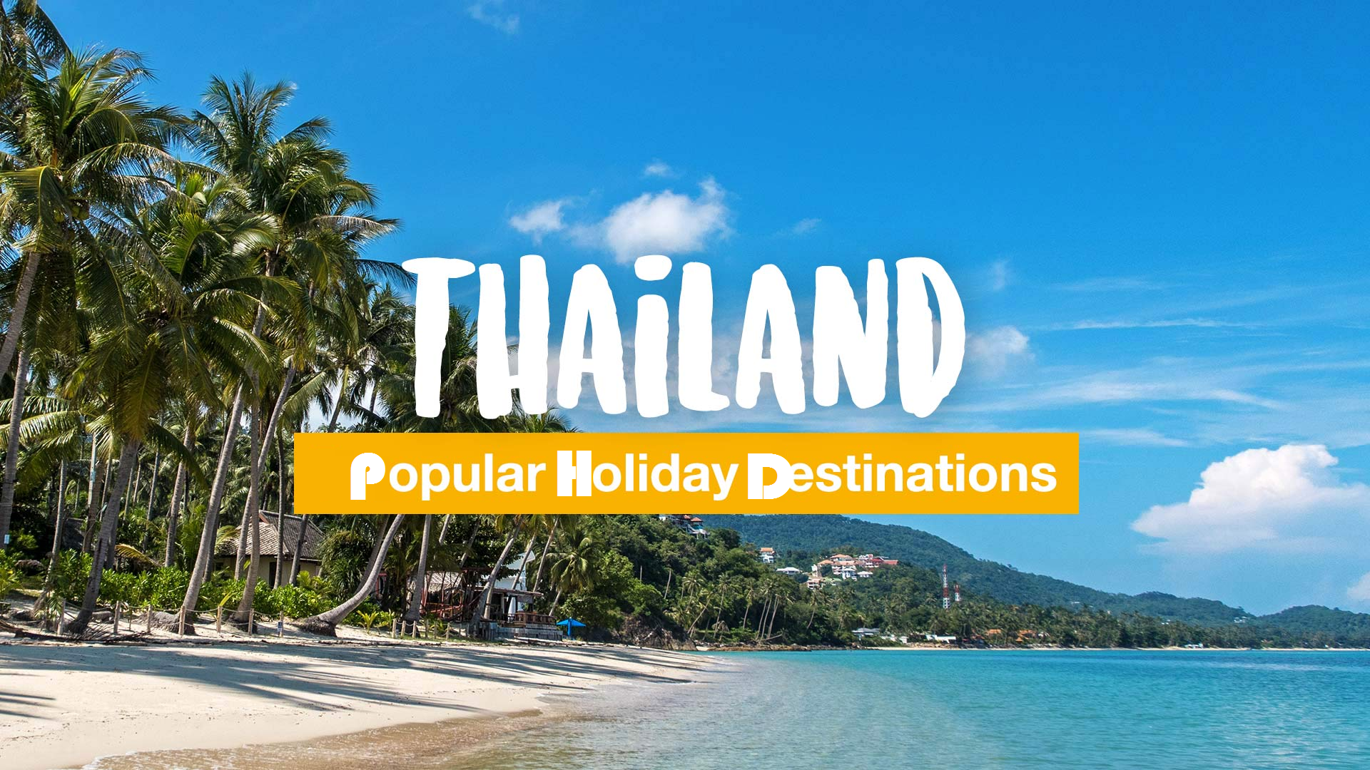 thailand travel destinations