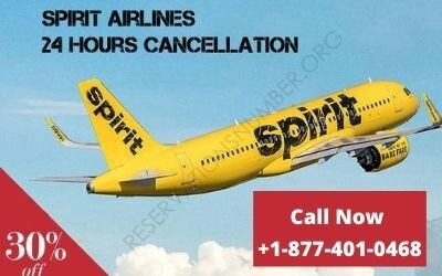 Spirit Airlines 24 Hours Cancellation Policy