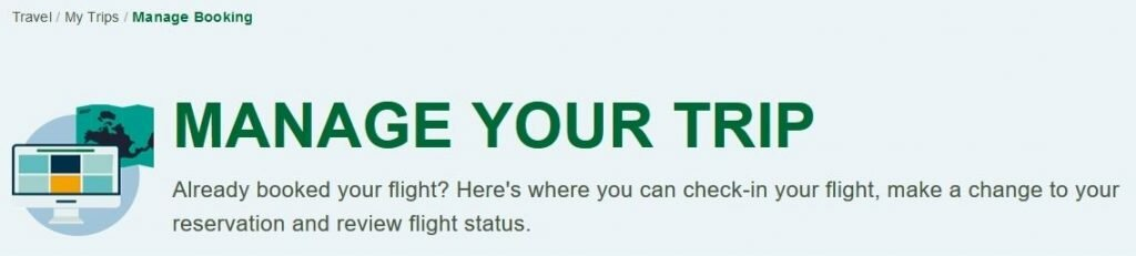frontier airlines manage booking